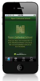 Cathedral School iPhone App