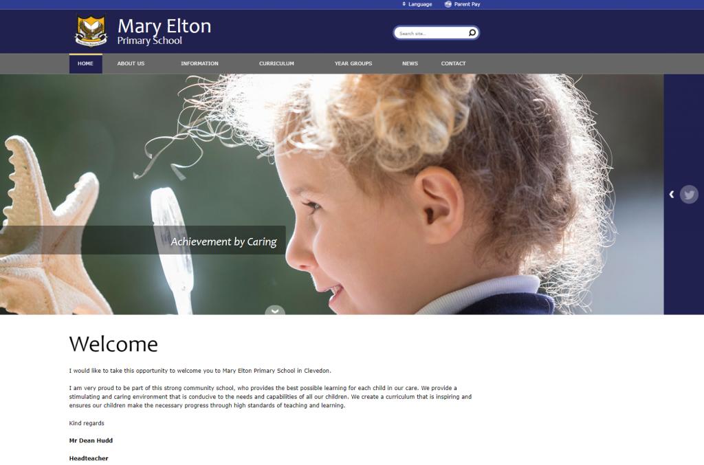 Mary Elton Primary School Website